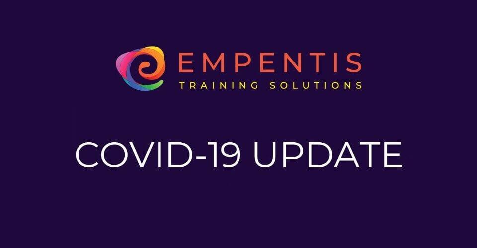 COVID-19 Update, empentis training solutions, online apprenticeships, apprenticeships