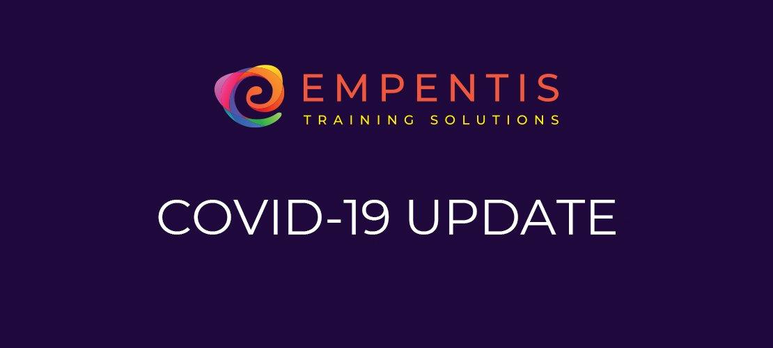 Empentis, COVID-19, COVID-19 update, coronavirus, apprenticeships, apprenticeship, levy solutions, important, news, update, pandemic
